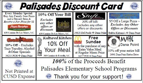 Palisades Discount Program